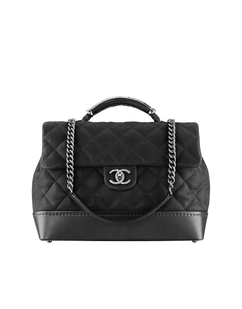 eea8532b2af8 ... Chanel Black Globe Trotter Vanity Case Large Bag