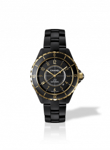 Chanel Black J12 Calibre 3125 Matte Watch 42mm