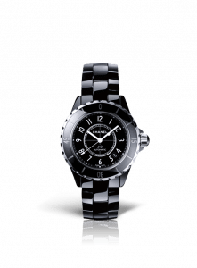 Chanel Black J12 Watch 38mm
