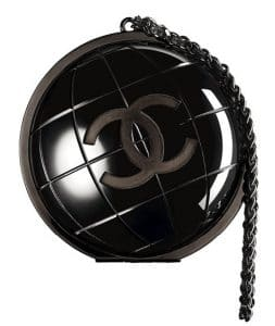Chanel Black Around The World Clutch - Fall 2013