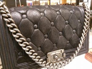Chanel Black with Chesterfield Padding Boy Chanel Celtic Medium Bag