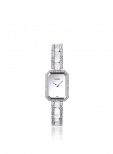 Chanel Ceramic White Gold Diamonds Premiere Watch 15.2mm