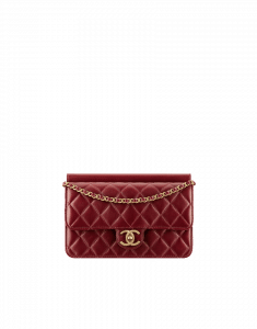 Chanel Red Chanel Crossing Times Flap Medium Bag