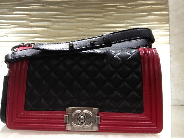 The Chanel Boy Bags from the Fall/Winter 2013 collection ... Chanel Boy Bag Red 2013