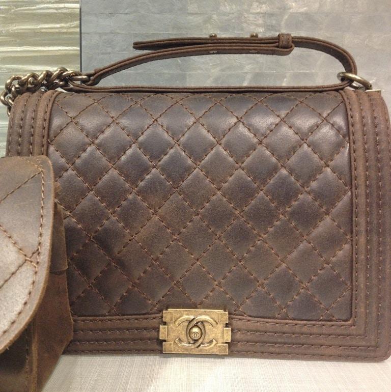 d62cb4777ee3 Chanel Black Boy Quilted Medium Bag Chanel Rust Boy Large Bag ...