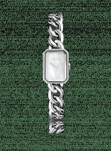 Chanel Steel Chain Bracelet Mother-of-Pearl Dial Premiere Watch 20mm