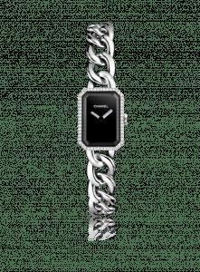 Chanel Steel and Diamonds Chain Bracelet Premiere Watch 16mm