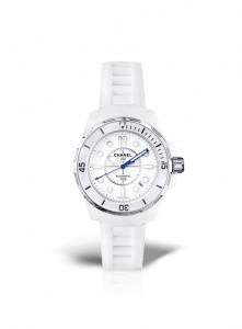 Chanel White J12 Marine Watch 38mm