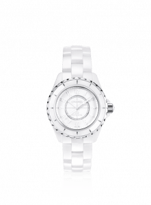 Chanel White J12 White Phantom 38mm