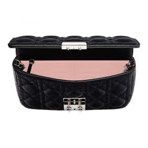 Dior Black Miss Dior Promenade Pouch Bag 3