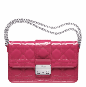 Dior Pink New Lock Pouch Bag