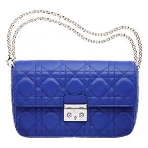 Dior Royal Blue Miss Dior Promenade Pouch Bag