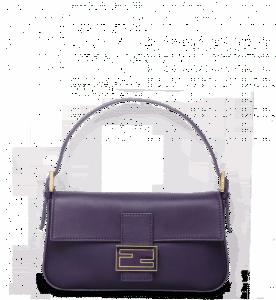 Fendi Amethyst Baguette Bag