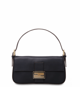 Fendi Black Baguette Bag