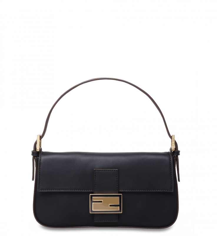 Fendi Black Baguette Bag