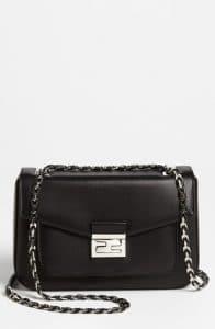 Fendi Black Be Baguette Bag 1