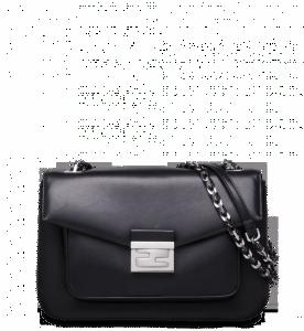 Fendi Black Be Baguette Bag