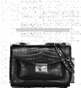 Fendi Black Crocodile Be Baguette Bag