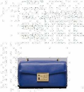 Fendi Blue Be Baguette Mini Bag