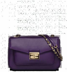 Fendi Violet Be Baguette Bag