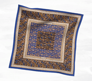 Hermes Chasse en Inde Silk Twill Scarf 90