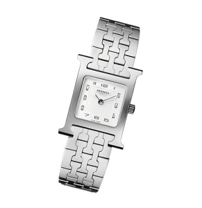 Hermes Steel Bracelet H Hour PM Watch
