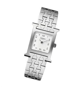 Hermes Steel Bracelet H Hour PM Watch