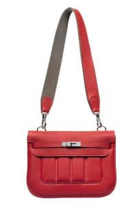 Hermes Vermillion Red Berline Bag