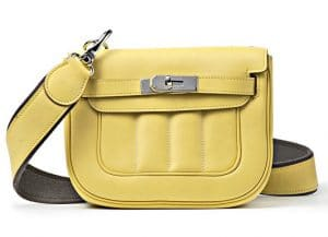 Hermes Yellow Mini Berline Bag