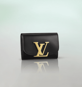 Louis Vuitton Black Vivienne LV Compact Wallet