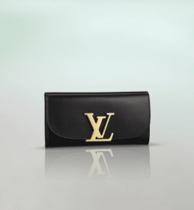 Louis Vuitton Black Vivienne LV Long Wallet