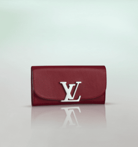 Louis Vuitton Cherry Taurillon Vivienne LV Long Wallet