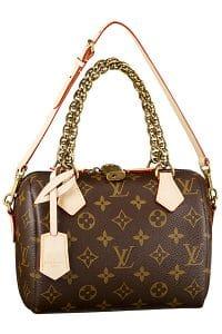 Louis Vuitton Monogram Speedy 20 Chain Bag