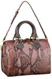 Louis Vuitton Rose Devoile Speedy 20 Bag