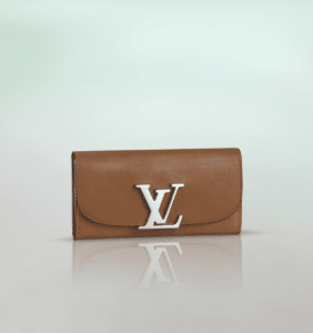 Louis Vuitton Tan Veau Racine Vivienne LV Long Wallet