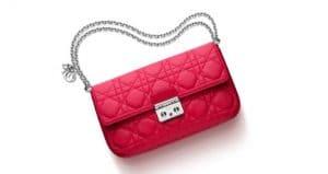 Miss Dior Promenade Pouch Bag in Red