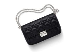 Miss Dior Promenade Pouch Bag in Black