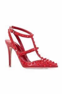 Valentino Rouge Rockstud Shoes