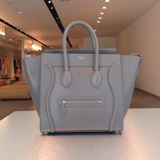Celine Grey Mini Luggage Bag 3 450 00 Usd