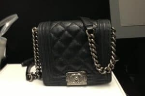 Chanel Mini Boy Quilted Flap Bag - Fall 2013
