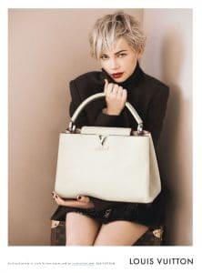 Louis Vuitton Capucines Bag and Michelle Williams