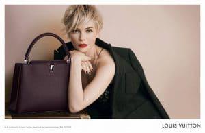 Louis Vuiton Capucine Ad campaign with Michelle Williams