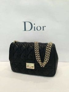 Miss Dior black bag - fall 2013 new design