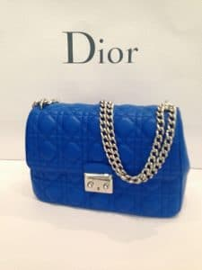 Miss Dior Blue bag - Fall 2013 new design