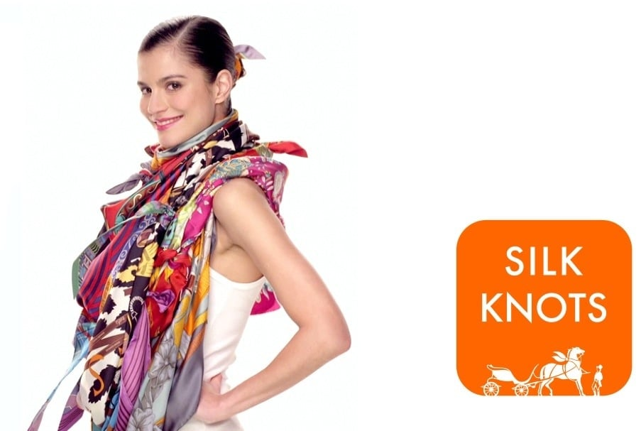 Hermes Launches Silk Knots App on Ways to Wear your Scarf ...