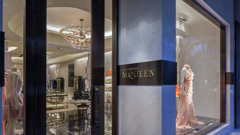 alexander mcqueen to open redesigned store on bond st  during london fashion week