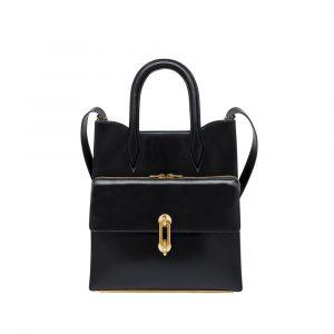 Balenciaga Black Maillon Tote Bag