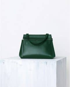 Celine Forest Green Palmelato Edge Tote Bag - Spring 2014