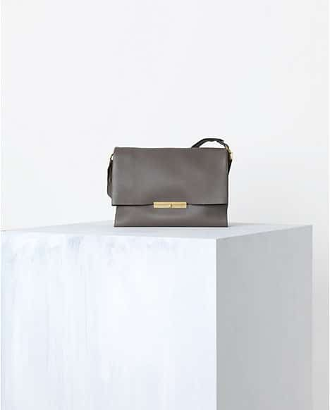 celine leather handbag blade