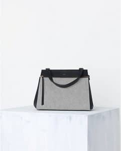 Celine Grey Canvas Edge Tote Bag - Spring 2014